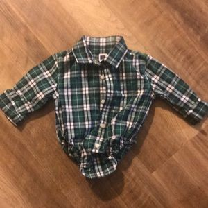 0-3 mos Janie and Jack button up shirt